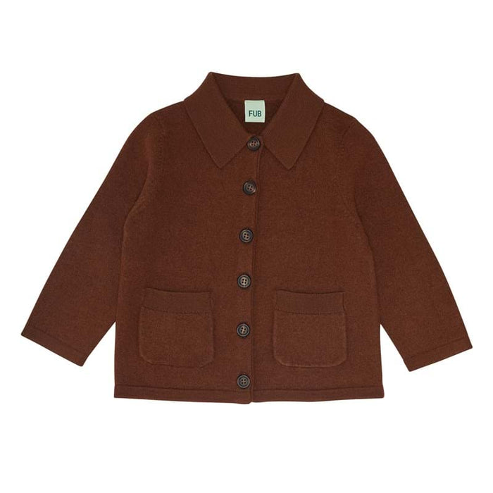 FUB Felted Jacket Wool // Umber