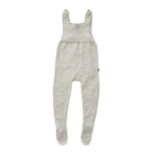 Oeuf Animal Footie Jumper // Grey Bunny by Oeuf - Mini Pop Style