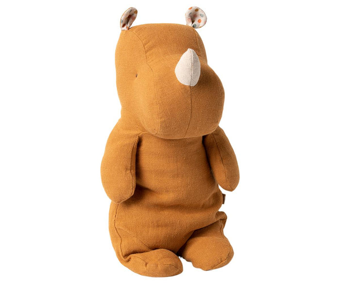 MAILEG Safari Friends Small Rhino // Ocher by MAILEG - Mini Pop Style