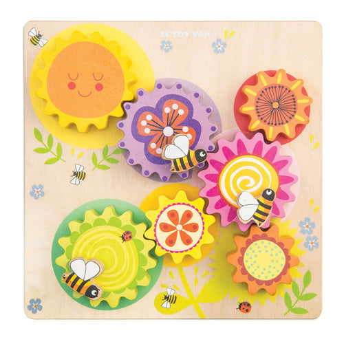 LE TOY VAN Petitlou Gears & Cogs Busy Bee Learning by LE TOY VAN - Mini Pop Style