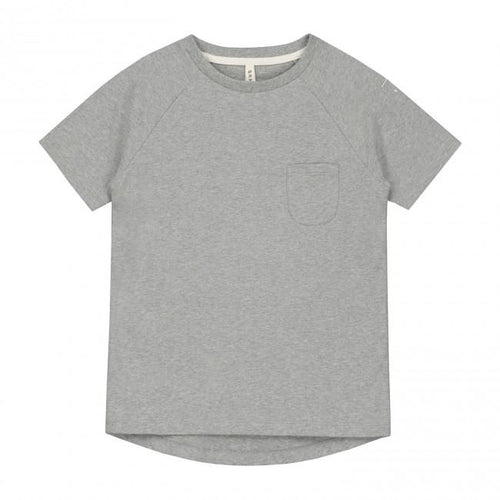 Gray Label Classic Crewneck Tee // Grey Melange by Gray Label - Mini Pop Style