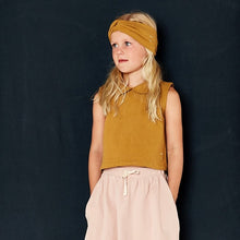 Load image into Gallery viewer, Gray Label Collar Tank Top // Mustard by Gray Label - Mini Pop Style