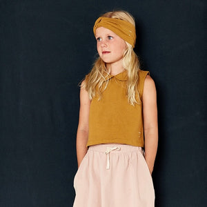 Gray Label Collar Tank Top // Mustard by Gray Label - Mini Pop Style