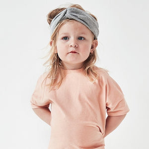 Gray Label Twist Headband // Grey Melange by Gray Label - Mini Pop Style