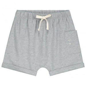 Gray Label One Pocket Shorts // Grey Melange by Gray Label - Mini Pop Style