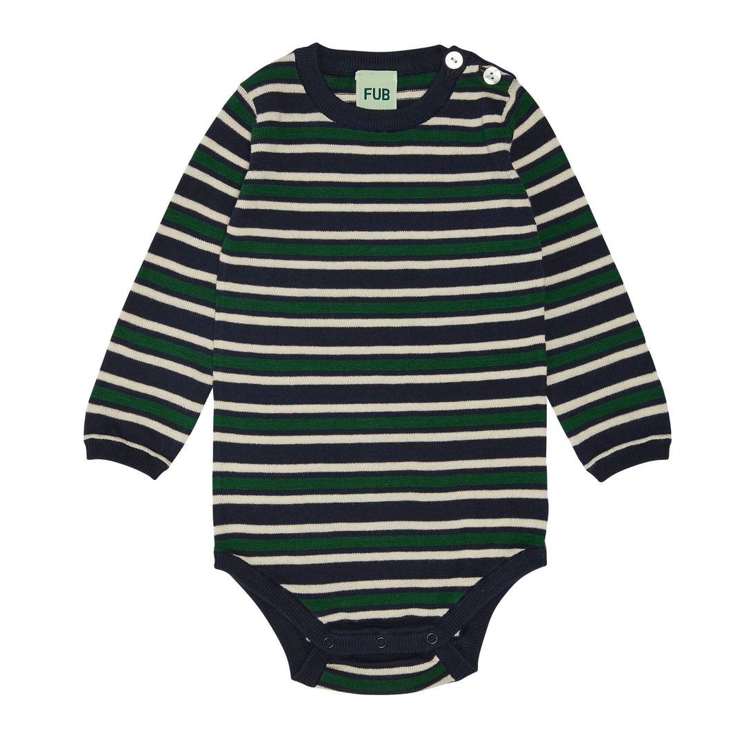 FUB Baby Body // Navy/Ecru/Forest by FUB - Mini Pop Style