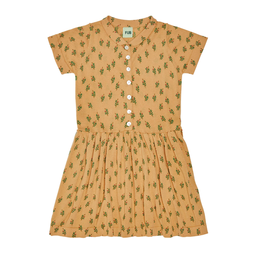 FUB Leaf Dress // Yellow by FUB - Mini Pop Style