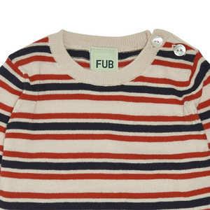 FUB Baby Body // Ecru/Red/Navy by FUB - Mini Pop Style