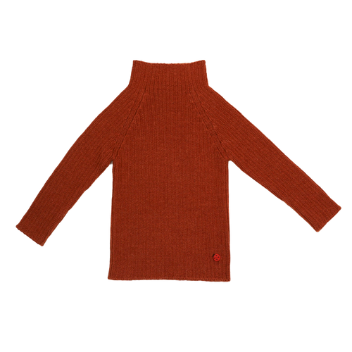 Esencia Rib Sweater // Brickred