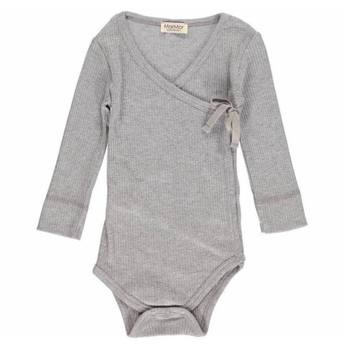 MarMar Body Mini LS // Grey Melange by MarMar - Mini Pop Style