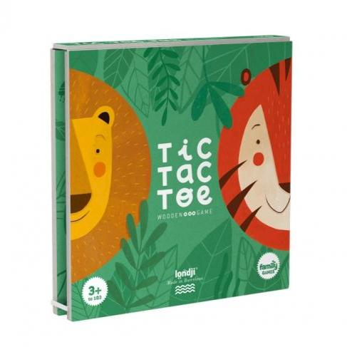 Londji Lion & Tiger Tic Tac Toe by Londji - Mini Pop Style