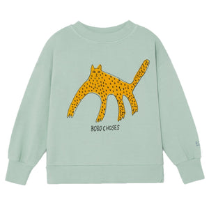BOBO CHOSES Leopard Sweatshirt by BOBO CHOSES - Mini Pop Style