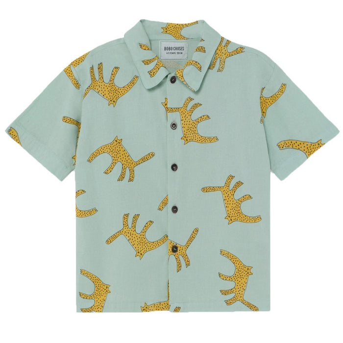 BOBO CHOSES Leopard Shirt by BOBO CHOSES - Mini Pop Style