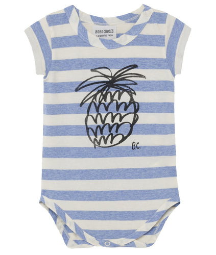 BOBO CHOSES Pineapple Short Sleeve Body by BOBO CHOSES - Mini Pop Style