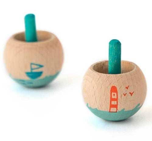 Londji Spinning Tops Little Worlds Sea by Londji - Mini Pop Style