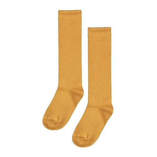 Gray Label Long Socks // Mustard - Mini Pop Style