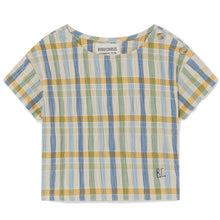 Load image into Gallery viewer, BOBO CHOSES Checker Blouse by BOBO CHOSES - Mini Pop Style
