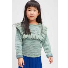 Load image into Gallery viewer, Oeuf Frou Frou Top // Ocean/Electric Blue by Oeuf - Mini Pop Style