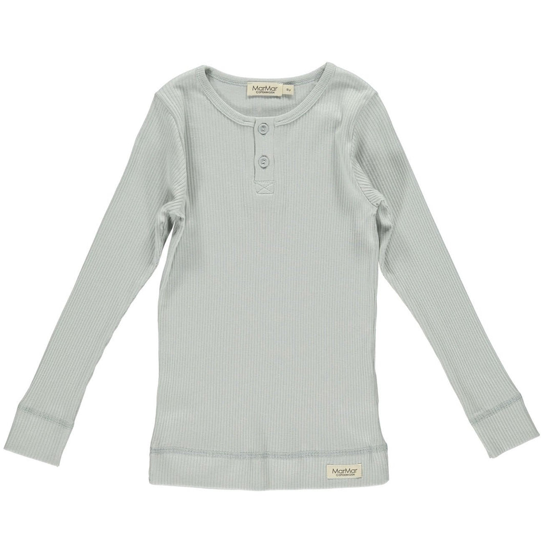 MarMar Tee Long Sleeve // Grey Sky by MarMar - Mini Pop Style