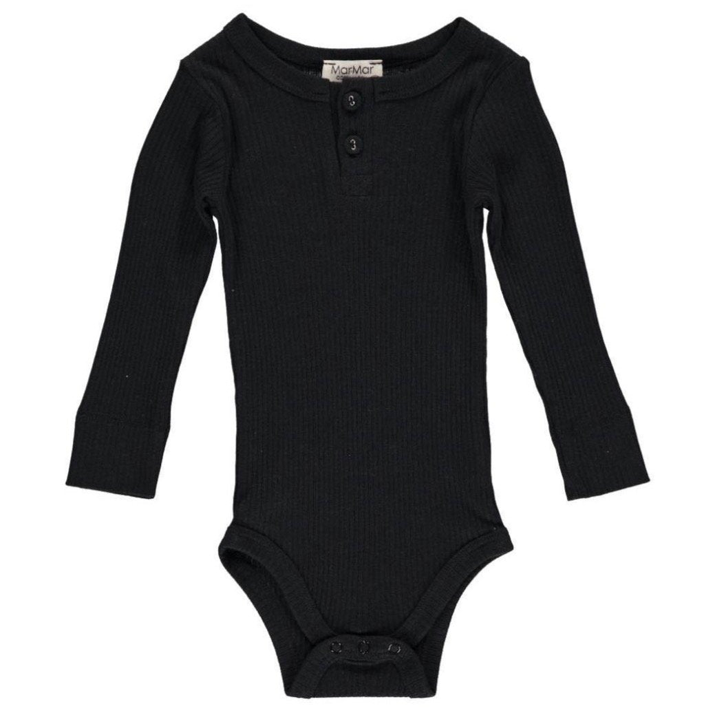 MarMar Body Long Sleeve // Caviar Black by MarMar - Mini Pop Style