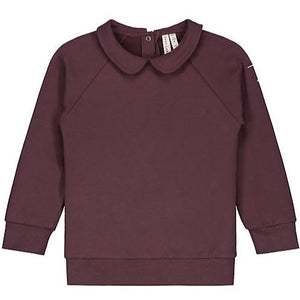 Gray Label Collar Sweater // Plum by Gray Label - Mini Pop Style