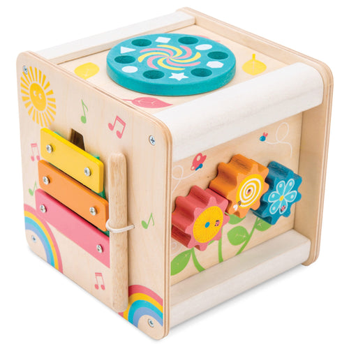 LE TOY VAN Petit Activity Cube by LE TOY VAN - Mini Pop Style