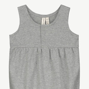 Gray Label Baby Summer Onesie // Grey Melange by Gray Label - Mini Pop Style