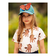 Load image into Gallery viewer, Mini Rodini Unicorn T-Shirt // Off-White by Mini Rodini - Mini Pop Style