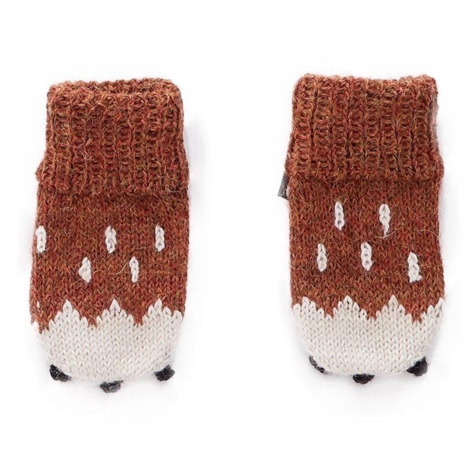 Oeuf Mittens Alpaca // Bambi by Oeuf - Mini Pop Style