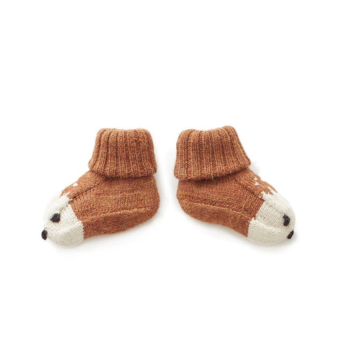 Oeuf Booties Alpaca // Bambi by Oeuf - Mini Pop Style