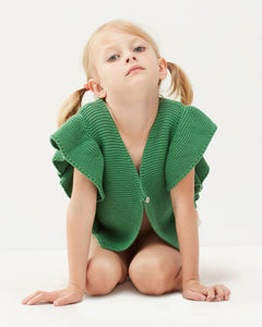 Oeuf Loved Vest // Green by Oeuf - Mini Pop Style