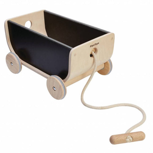 PlanToys Wagon Black by Plan Toys - Mini Pop Style