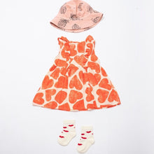 Load image into Gallery viewer, BOBO CHOSES All Over Hearts Ruffle Dress by BOBO CHOSES - Mini Pop Style