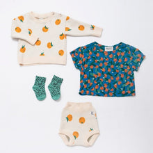 Load image into Gallery viewer, BOBO CHOSES All Over Oranges Blouse - Mini Pop Style