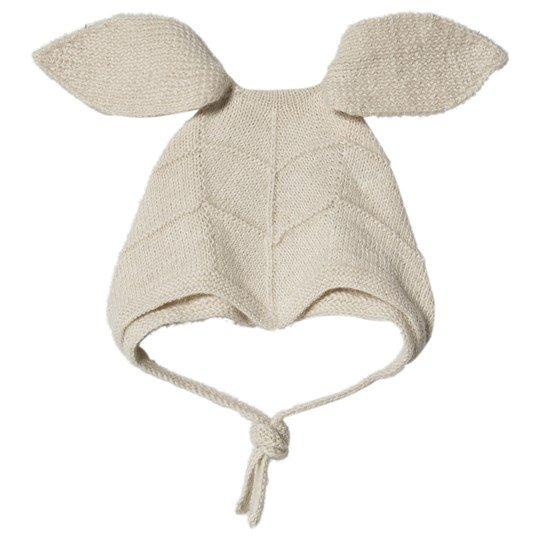 Huttelihut Rabbit Hut W/ Long Ears // Off White