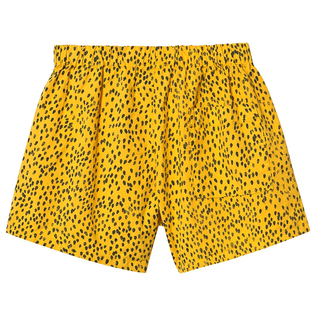 BOBO CHOSES All Over Leopard Woven Shorts by BOBO CHOSES - Mini Pop Style