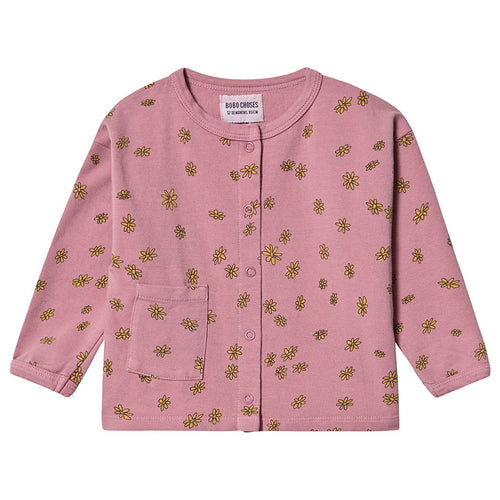 BOBO CHOSES All Over Daisy Buttoned Sweatshirt by BOBO CHOSES - Mini Pop Style