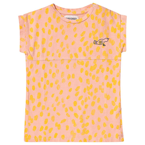 BOBO CHOSES Animal Print T-shirt Dress by BOBO CHOSES - Mini Pop Style