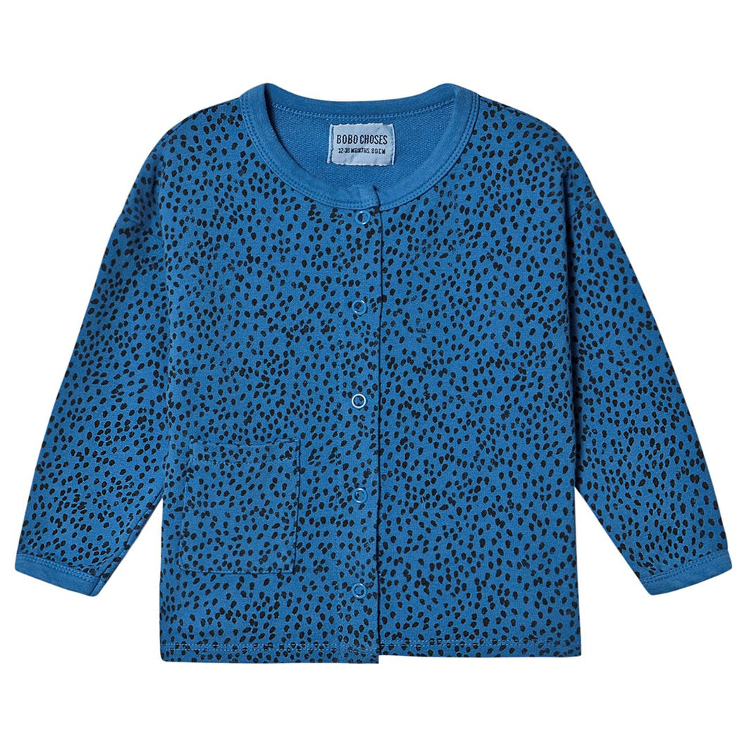 BOBO CHOSES All Over Leopard Buttoned Sweatshirt by BOBO CHOSES - Mini Pop Style