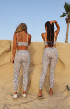 Load image into Gallery viewer, WILD GIRL-SNOW LEOPARD PRINT-LEGGINGS