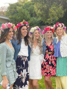Adult Flower Crown Workshop