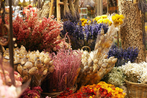Dried Wreath Making Class - Robe