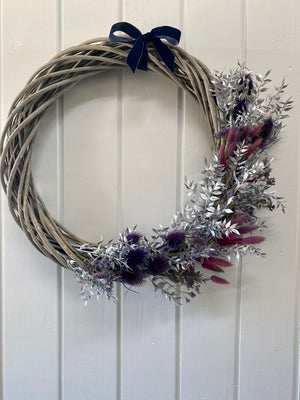Dried Christmas Wreath