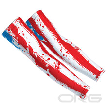 ORG Statue of Liberty American Flag Men's Printed Arm Sleeves
