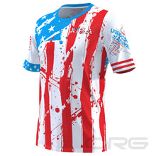 ORG Men's American Statue of Liberty Technical Short Sleeve Running Shirt