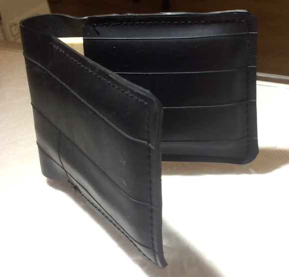 Black Wallet - made in NZ from Bicycle Innertube