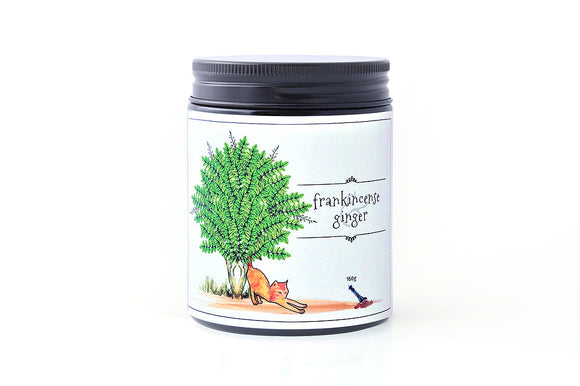 Frankincense & Ginger Candle