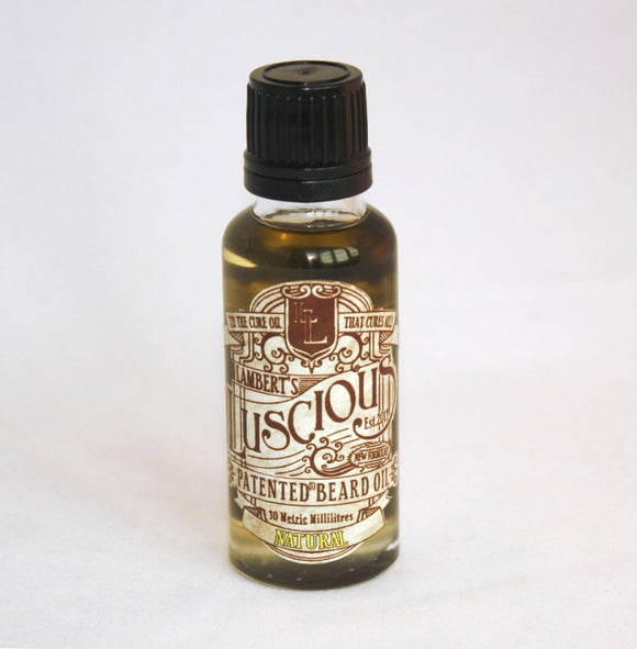 Lambert's Luscious Beard Oil - Natural