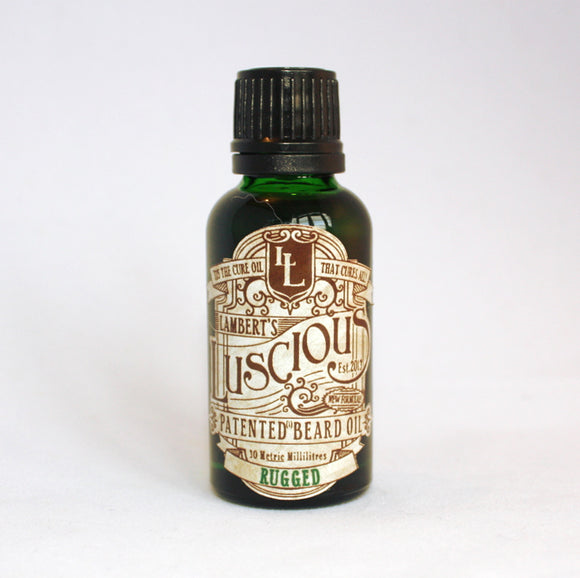 Lambert's Luscious Beard Oil - Rugged Scent