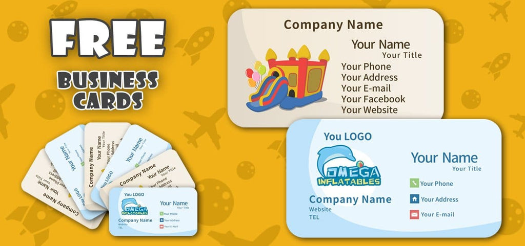 500 pcs Free Business Cards